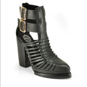 JEFFREY CAMPBELL CANTU Ankle Booties Boots